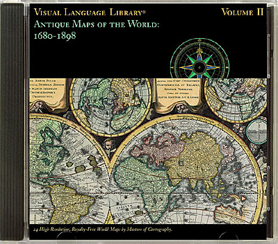 Antique Maps of the World: 1680-1898